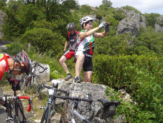 cyclo montagnarde Lodeve 2/3 juillet 2016