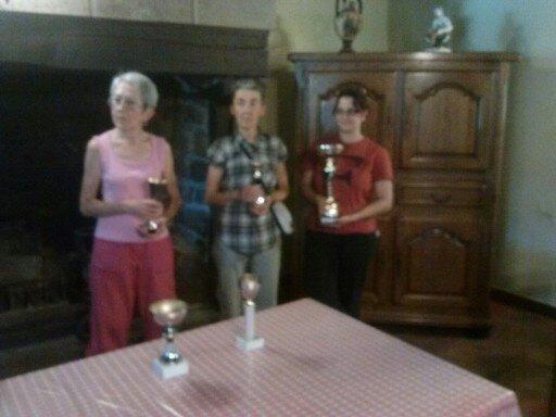 mille virages 22 aout. Le club esr récompensé pour son nombre de participants et la présence féminine